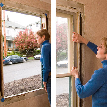 Installing an insert replacement window how to replace for Diy window replacement
