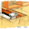 Framing for a Toilet Bend