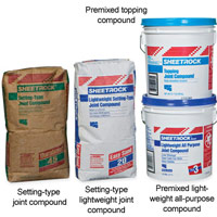 Drywall compounds