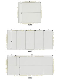 Horizontal panel diagrams