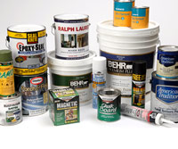 Texture and specialty paints