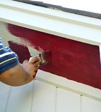 Paint horizontal part