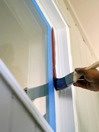 Paint inside edge