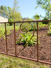 Ornamental iron