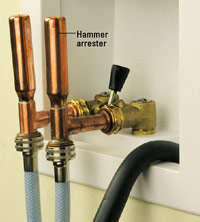 Water hammer arresters