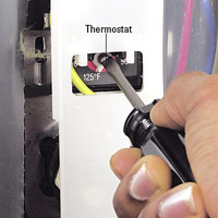 Set thermostat