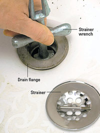 Strainer wrench