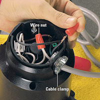 Hook up appliance extension cord