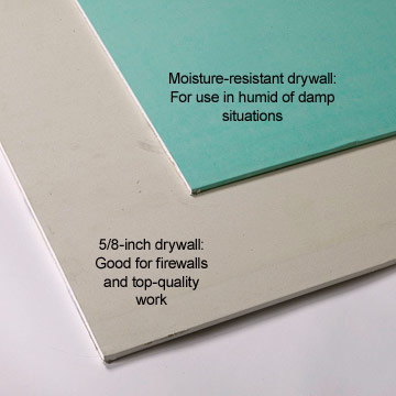 Specialty Panels Enlarge Image Moisture Resistant Drywall. Standard Drywall  Panels Materials Supplies Drywall