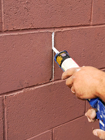 Preparing masonry surfaces how to paint any exterior - Concrete block painting ideas ...