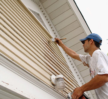 painting soffits and eaves how to paint any exterior surface. Black Bedroom Furniture Sets. Home Design Ideas
