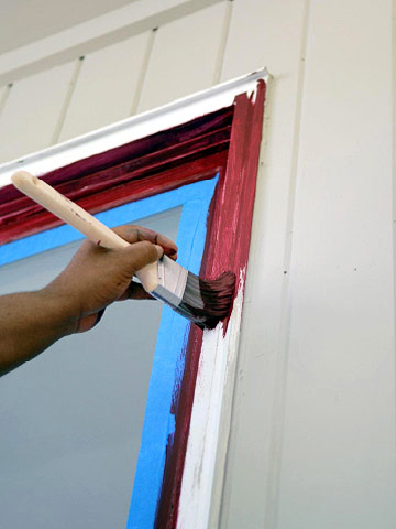 Painting Exterior Windows - How to Paint Any Exterior Surface ...