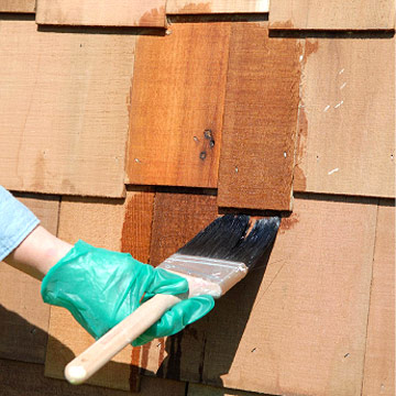 finishing cedar shingles and siding how to paint any