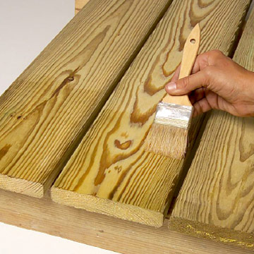 Exterior Wood Sealer Wood Boring Insects