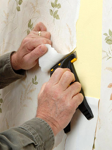 removing wallpaper how to paint any interior surface