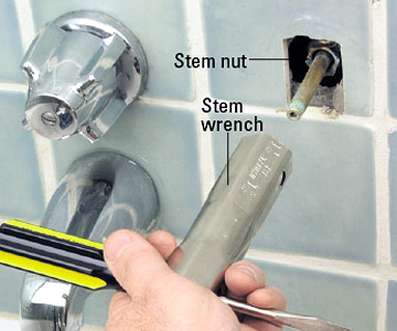Shower Faucet Replacement - Replacing the Tub and Shower Valve