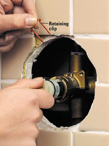Tub And Shower Cartridge Faucet Repair And Installation