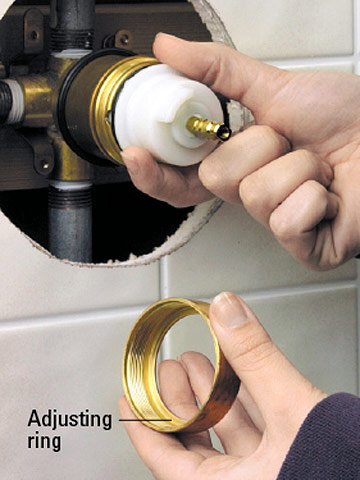 Tub And Shower Ball Faucet Repair And Installation
