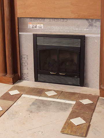 Tiling A Fireplace How Tile To Special Spaces Tile