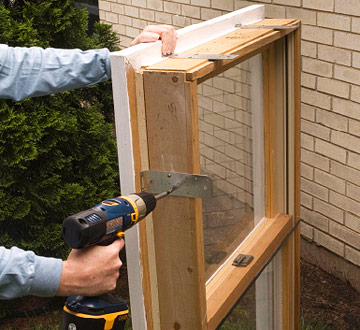 Installing A Wood Window How To Install New Windows In