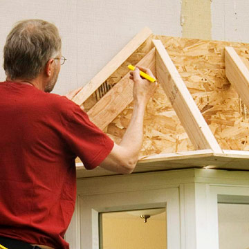 Installing A Bay Window How To Install New Windows In