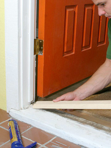 Replacing A Sill And Threshold How To Repair Any Door In Your House Diy Advice