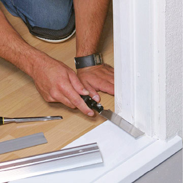 replacing a sill and threshold how to repair any door in