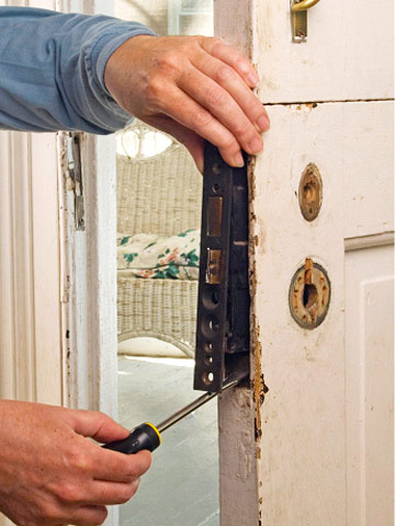 Repairing Old Latches How to Repair Any Door in Your House DIY