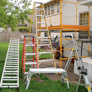 Ladders And Scaffolding How To Paint Any Exterior