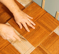 Mark tiles for cutting