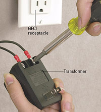Attach softener to transformer
