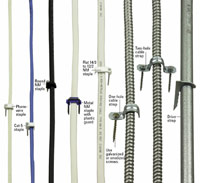 Cables with fasteners