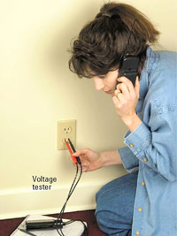 Test outlet