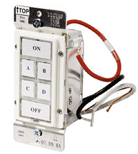 Wall-control dimmer