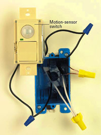 Motion-sensor switch