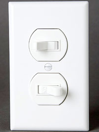 Single-pole with three-way switch