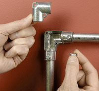 Installing Metal Conduit How To Install Electrical Cable