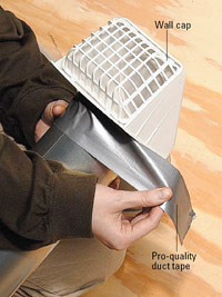 Fit duct