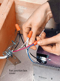 Installing A Bath Vent Fan How To Install A Fan Or