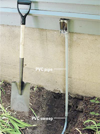 Add sweep to pipe