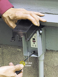 Install in-use cover