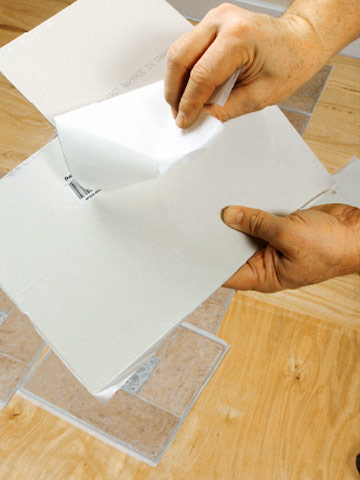 Installing Self Stick Vinyl Tile How To Install