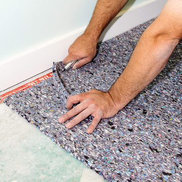 How To Install Wall Carpeting In Your Backyard Shed Office Or Studio