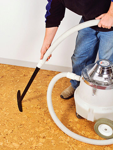 maintaining carpeting and cork - how to repair & maintain floors