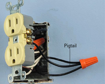 Electrical pigtail