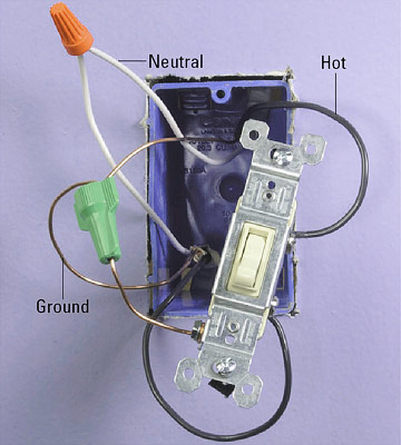 switch wiring power through and end line how to install a power through switch photo enlarge image through wiring
