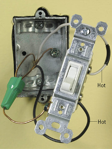 switch wiring power through and end line how to install a end line switch photo