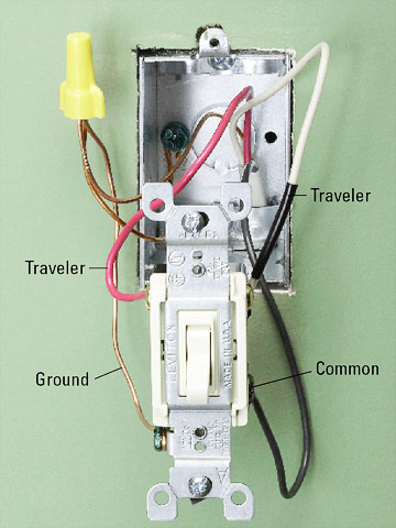 About Threeway Switches How To Install A Switch Or Receptacle - Three way switch what is