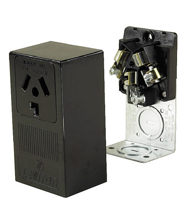 120 and 240 volt receptacles how to install a switch or. Black Bedroom Furniture Sets. Home Design Ideas