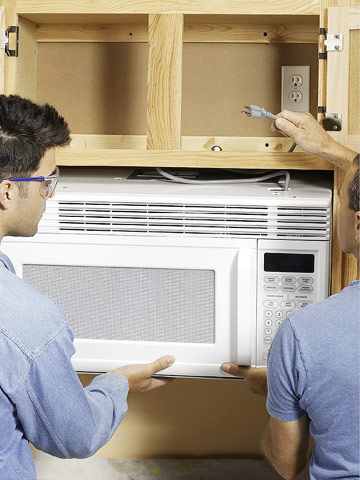 Installing An Over The Range Microwave How To Install A